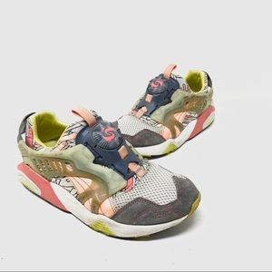 Puma disc system fashion sneakers 5.5 C8
